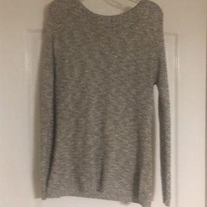 Tribal silver sweater